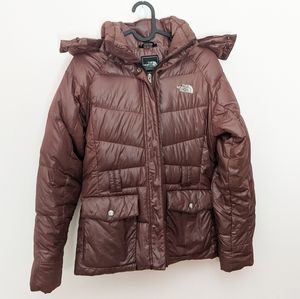 The North Face 550 Goose Down Winter Puffer Coat